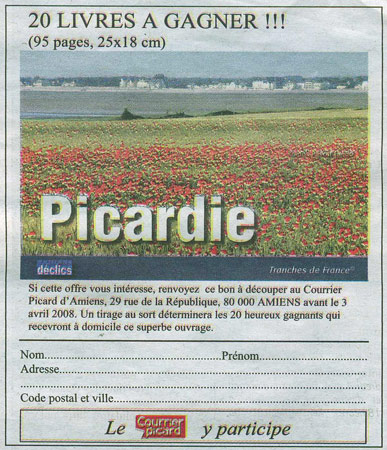 scan d'un article du courrier picard
